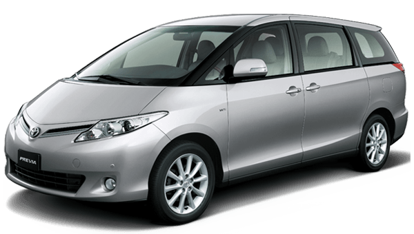 8 Seater Van Rental Cars - Toyota Previa or similar
