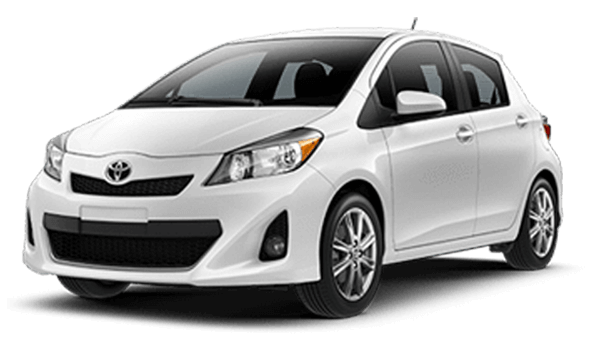 Sub Compact Rental Cars - Toyota Yaris or similar