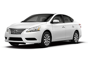A 5-seater comfortable car for touring, as available in the Pegasus Rental Cars intermediate vehicle fleet