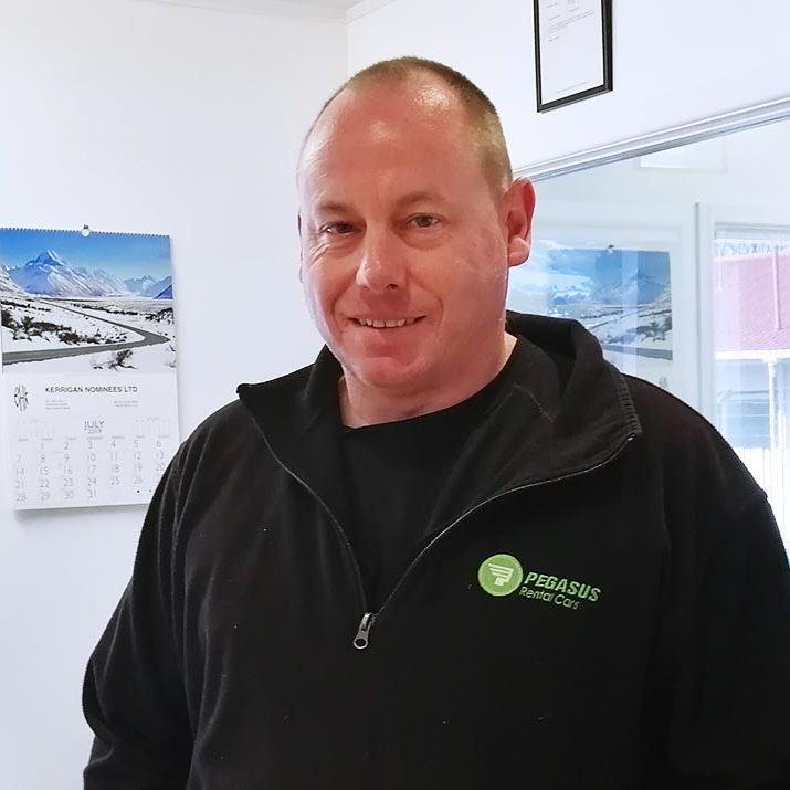 Warren Bradnock Owner Operator Pegasus Rental Cars Auckland Airport