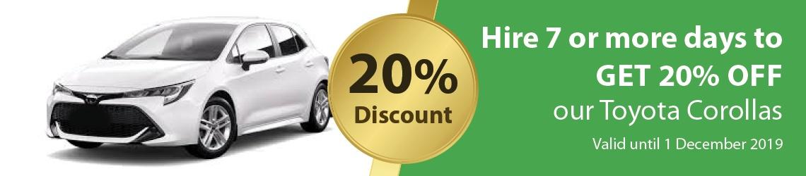 Pegasus Rental Cars Rotorua Opening Deal Discount October