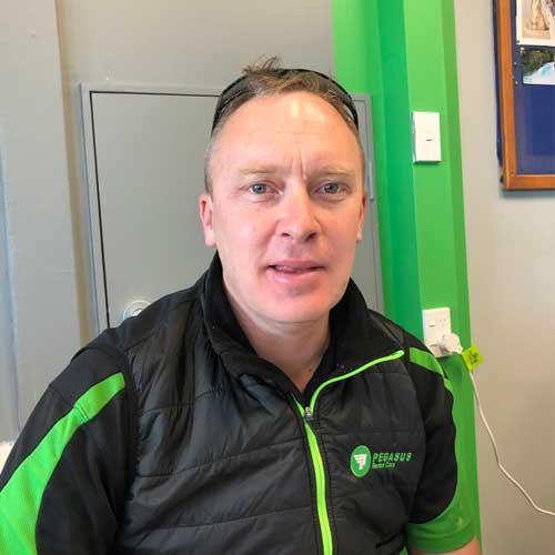 Damian White Pegasus Rental Cars Taupo