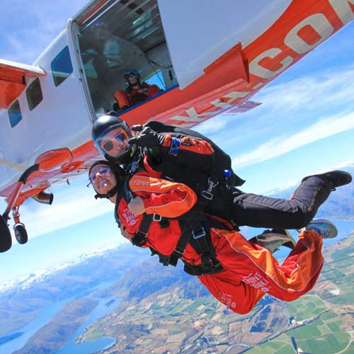 Tandem Skydive Wanaka with Pegasus Rental Cars Queenstown