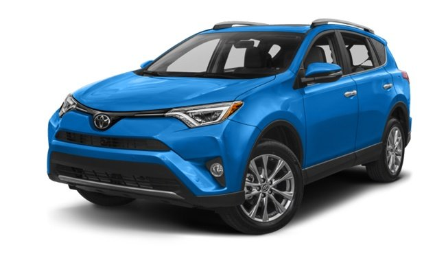 Bright blue Toyota RAV4 an example of a Pegasus SUV for hire