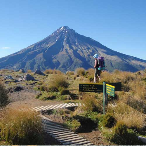 Exploring in the Egmont National Park